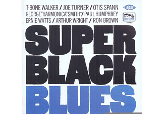 Joe Turner, Otis Spann, T-Bone Walker - Super Black Blues [CD]