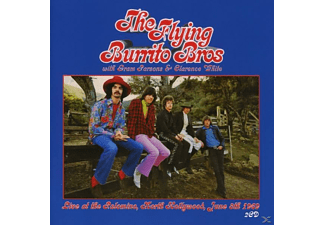 Gram Parsons, Clarenc White, The Flying Burrito Brothers - Live At The Palomino, North Hollywood, June 8th 19 - (CD)
