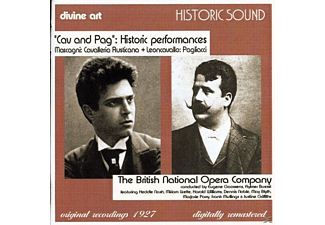 British National Opera Company, Brit.N'l Opera Co.1927 - Cavalleria Rust./I Pagliacci - (CD)