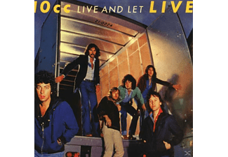 10cc - Live And Let Live (Exp.+Rem.) - (CD)