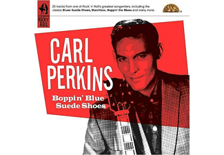 Carl Perkins - Boppin Blue Suede Shoes - (CD)