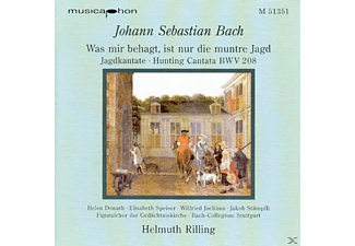 Helmuth Rilling - Jagdkantate - (CD)