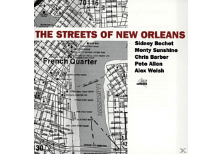 VARIOUS - The Streets Of New Orleans - (CD)