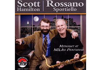 Hamilton, Scott / Sportiello, Rossano - Midnight At Nola's Penthouse [CD]