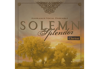 Mark Adoramus Vocal Ensemble/burrows - Solemn Splendor - (CD)
