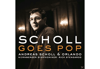 Reas Scholl, Andreas Scholl - Andreas Scholl Goes Pop - (CD)
