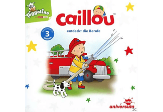 Caillou - Caillou entdeckt die Berufe - (CD)