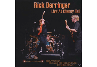 Rick Derringer - Live At Cheney Hall - (CD)