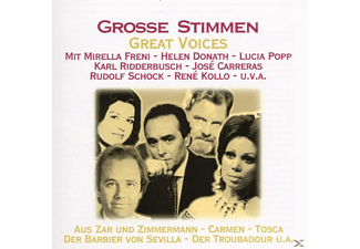 VARIOUS - Grosse Stimmen/Great Voices - (CD)
