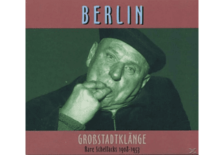 VARIOUS - Rare Schellacks-Berlin-Grossstadtklänge 1908-1953 [CD]
