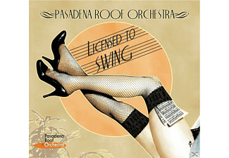 The Pasadena Roof Orchestra - Pro9, Licensed To Swing - (CD)