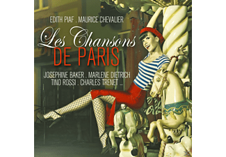 VARIOUS - Les Chansons De Paris - (CD)