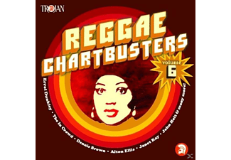 VARIOUS - Reggae Chartbusters Vol.6 [CD]