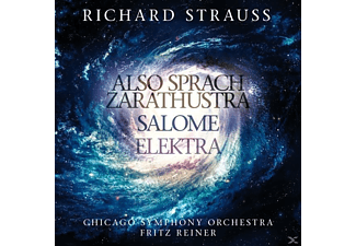 STRAUSS, RICHARD - REINER, FRITZ - Strauss: Also Sprach Zarathustra-Elektra-Salome [CD]