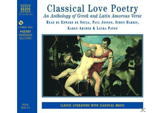 Classical Love Poetry - 2 CD - Hörbuch