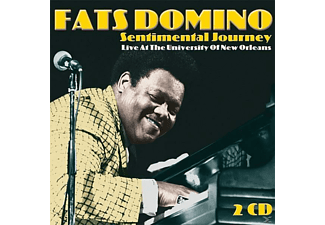 Fats Domino - Sentimental Journey-Live At The Universi - (CD)