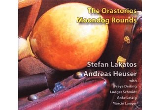 Moondog Rounds/Lakatos,S./Heuser,A. - The Orastorios [CD]