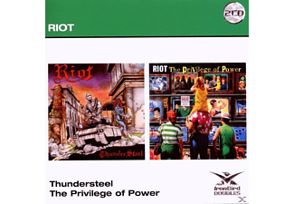 Riot - Thunder Steel/The Privilege Of Power - (CD)