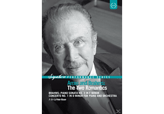 ARRAU,CLAUDIO & IZQUIERDO,JUAN PABLO - The Two Romantics (Sonate 3/KK 1) - (DVD)