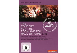 VARIOUS, Rock And Roll Hall Of Fame - RRHOF - LIVE CONCERT FOR THE ROCK AND ROLL HALL OF - (DVD)