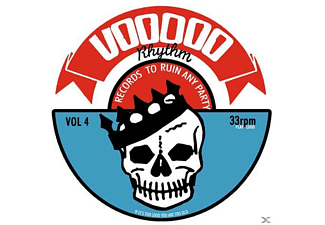 VARIOUS - Voodoo Rhythm Compilation Vol.4 - (MC (analog))