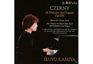 Ikuyo Kamiya - Czerny-48 Preludes And Fugues Op.856 - (CD)