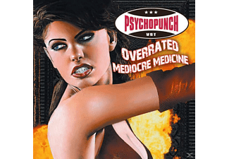 Psychopunch - Overrated-Mediocre Medicine - (Vinyl)