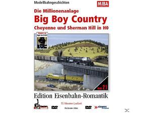 DIE MILLIONENANLAGE (BIG BOY COUNTRY IN H0) - (DVD)