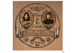 Mike Sheridan - This Is To Certify-The Gemini Anthology - (CD)