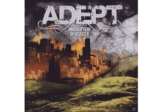 Adept - Another Year Of Disaster - (CD)