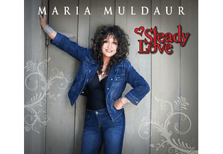 Maria Muldaur - Steady Love - (CD)