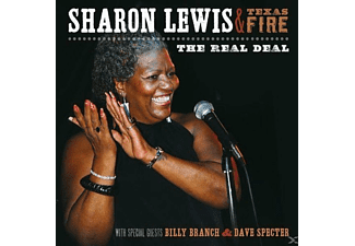 Sharon Lewis & Texas Fire - Real Deal - (CD)