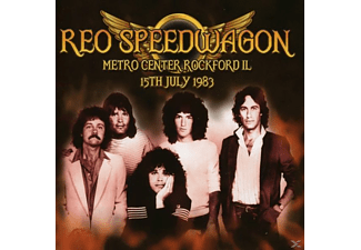 REO Speedwagon - Metro Center Rockford Il 15th July 1983 [CD]