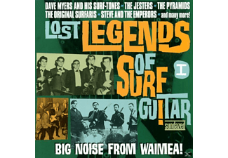 VARIOUS - Lost Legends Of Surf Guitar Vol.1 - (CD)