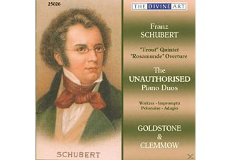 Clemmow, Goldstone & Clemmow - The Unauthorised Piano Duos - (CD)