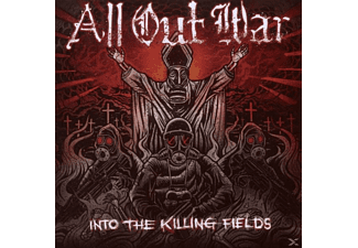 All Out War - Into The Killing Fields - (CD)