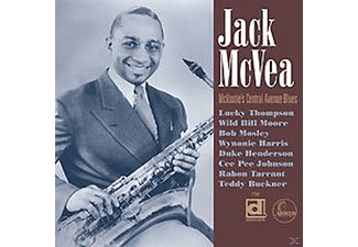 Jack Mcvea - Mcvoutie's Central Avenue.... - (CD)