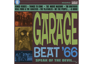 VARIOUS - Vol. 6, Garage Beat '66-Speak - (CD)