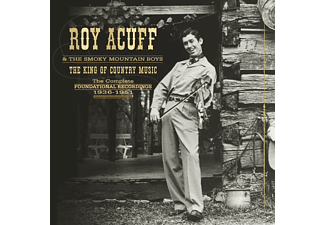 Acuff, Roy & Smoky Mountain Boys, The - The King Of Country Music,The Foundation Recordin - (CD + DVD)