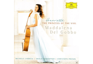 Maddalena Del Gobbo - Henriette-The Princess Of The Viol - (CD)