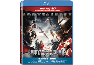 Captain America: Civil War 3D BD&2D BD, Blu-ray