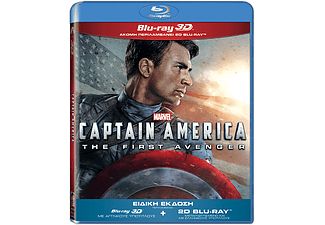 Captain America: The First Avenger 3D BD&2D BD, Blu-ray