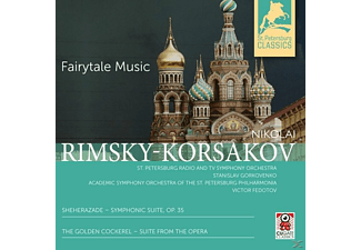 Gorkovenko, Stanislav / Fedotov, Victor - Sheherazade & The Golden Cockerel-Fairytale Musi [CD]