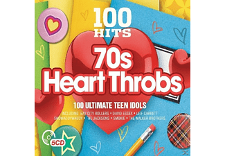 VARIOUS - 100 Hits-70's Heart Throbs [CD]
