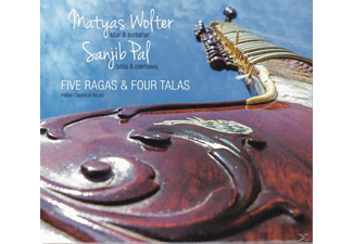 Wolter,Matyas/Pal,Sanjib - Five Ragas & Four Talas - (CD)