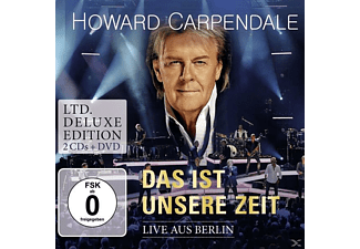Howard Carpendale - Das Ist Unsere Zeit-Live (Ltd.Deluxe Edt.) [CD + DVD Video]
