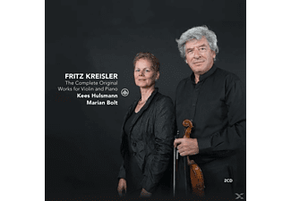 Kees Hulsmann - The Complete Original Works For Violin And Piano [CD]