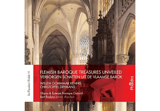 Utopia & Euterpe Baroque Consort - Flemish Baroque Treasures Unveiled - (CD)