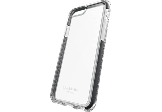 CELLULAR LINE 37808, Backcover, iPhone 7 Plus, Kunststoff, Schwarz/Transparent