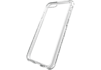CELLULAR LINE 37809, Backcover, iPhone 7 Plus, Kunststoff, Weiss/Transparent